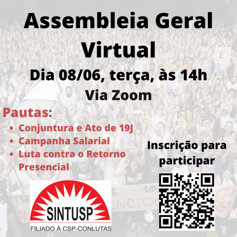 Boletim #18 – Convocação da Assembleia Geral de 08/06/21